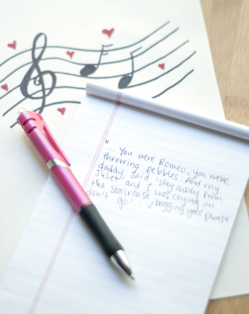 Fourth Grade Reading & Writing Activities: How to Write a Love Song
