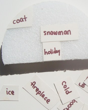 Second Grade Holidays & Seasons Activities: Winter Words