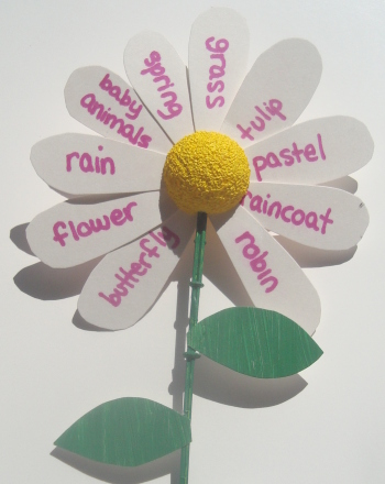 Second Grade Holidays & Seasons Activities: Spring Words