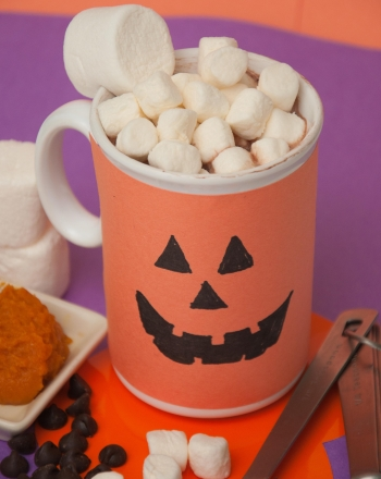 Third Grade Recipes Activities: Homemade Pumpkin Hot Chocolate
