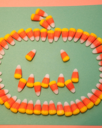 First Grade Holidays Activities: Candy Corn Art