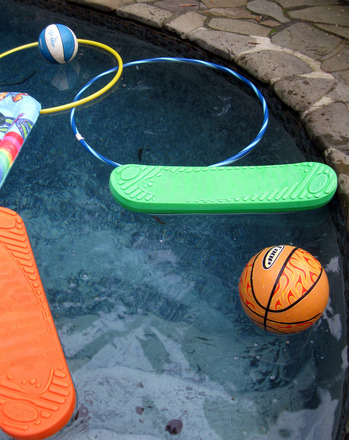 Fourth Grade Holidays & Seasons Activities: Pool Obstacle Course