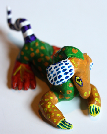 Fourth Grade Arts & crafts Activities: Make a Traditional Mexican Alebrije