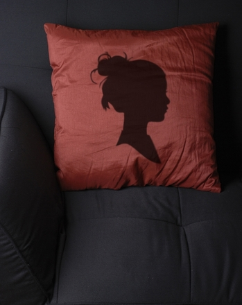 Third Grade Arts & crafts Activities: Silhouette Pillow