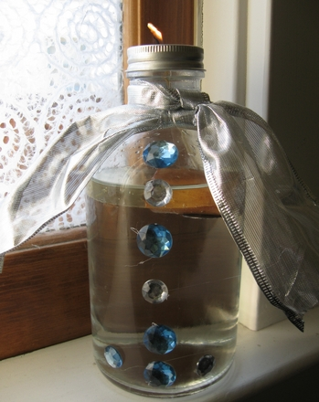 Third Grade Holidays & Seasons Activities: Make an Oil Lantern