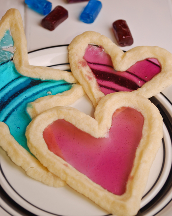 Third Grade Recipes Activities: Stained Glass Cookies