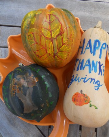 Third Grade Holidays & Seasons Activities: Gourd Painting