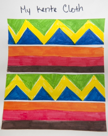 Third Grade Seasons Activities: Make Your Own Kente Cloth