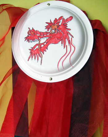 Third Grade Holidays Activities: Chinese New Year Dragon Art