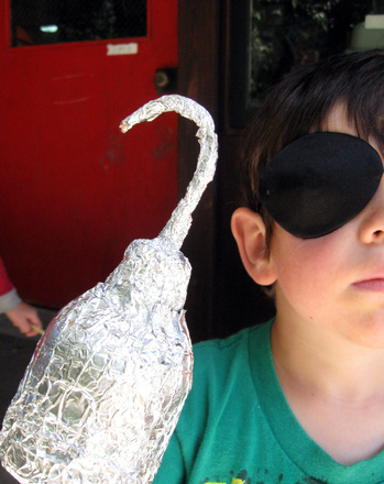 Kindergarten Arts & Crafts Activities: Make a Pirate Hook!