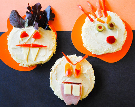 Kindergarten Holidays & Seasons Activities: Zombie Sandwich