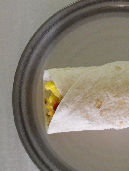 Second Grade Recipes Activities: Breakfast Burrito