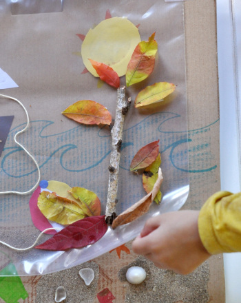 Preschool Seasons Activities: Make a Changing Seasons Collage