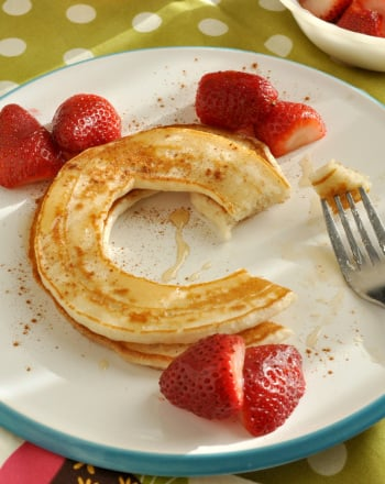 Preschool Recipes Activities: Alphabet Pancakes