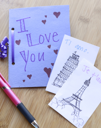 "Third Grade Holidays Activities: ""I Love You"" Book"