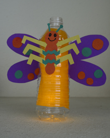 Second Grade Arts & Crafts Activities: Lightning Bug Craft