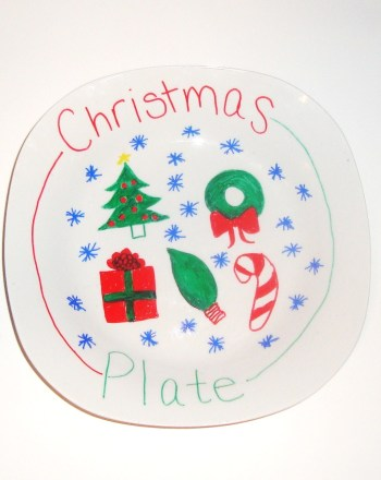 First Grade Arts & crafts Activities: Christmas Plate