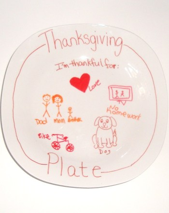 First Grade Arts & crafts Activities: Thanksgiving Plate