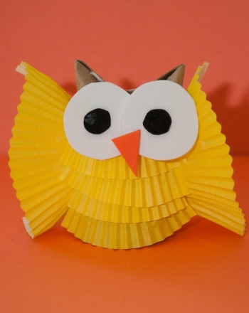 First Grade Arts & Crafts Activities: Paper Owl