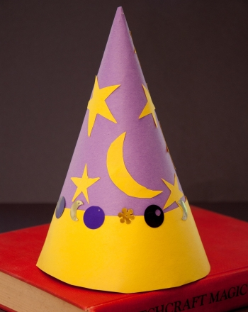 First Grade Arts & Crafts Activities: Wizard Hat
