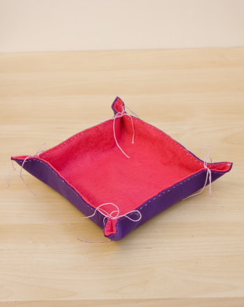 Fifth Grade Arts & Crafts Activities: Felt Basket