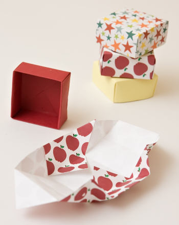 Fourth Grade Arts & Crafts Activities: Fold a Paper Gift Box