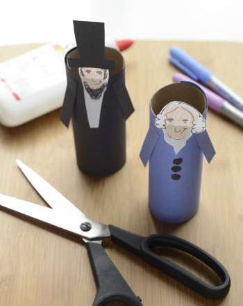 Third Grade Holidays Activities: Presidents Day Craft