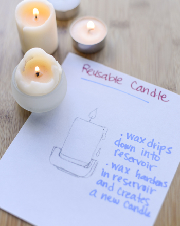 Middle School Science Science Projects: Reusable Candle