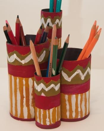 Third Grade Arts & crafts Activities: Pencil Pot