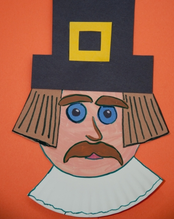 First Grade Arts & Crafts Activities: Paper Plate Pilgrim