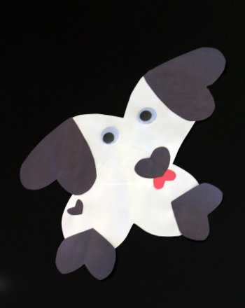 Kindergarten Holidays & Seasons Activities: Valentine Puppy