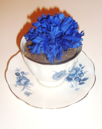 Kindergarten Arts & crafts Activities: Teacup Planter