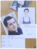 This science project has students study the idea of human beauty.