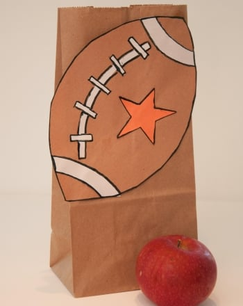 Second Grade Arts & crafts Activities: Football Craft