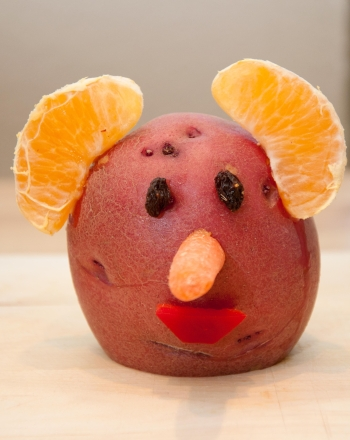 Kindergarten Arts & crafts Activities: Potato Face