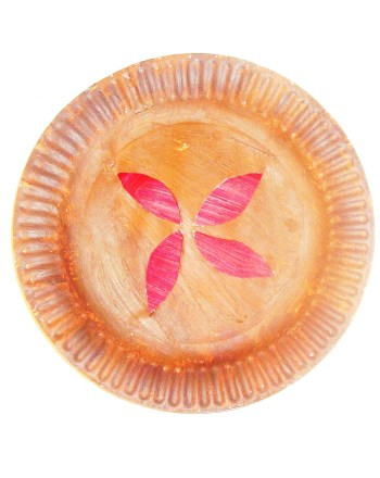 Preschool Arts & Crafts Activities: Pie Plate