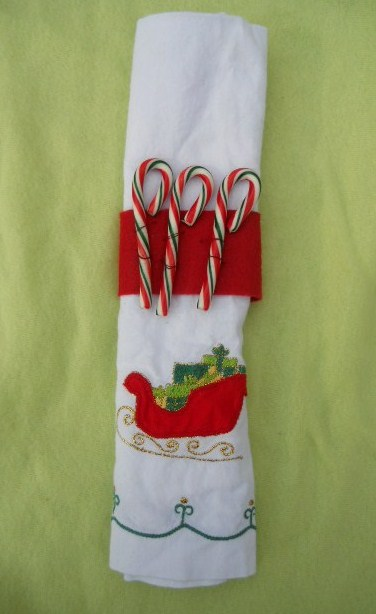Fourth Grade Holidays & Seasons Activities: Christmas Napkin Rings