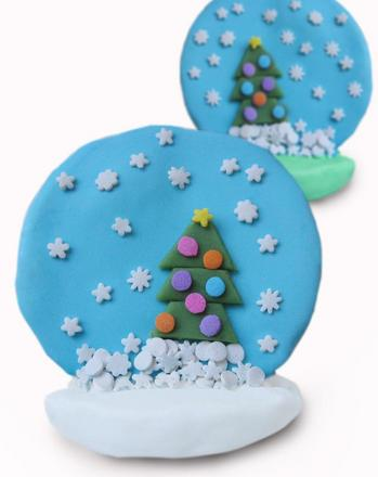 Fifth Grade Holidays & Seasons Activities: Snow Globe Cookies