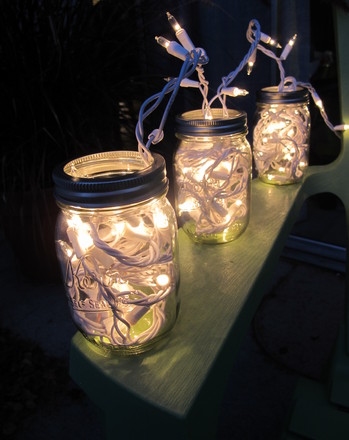 First Grade Holidays & Seasons Activities: Mason Jar Lights
