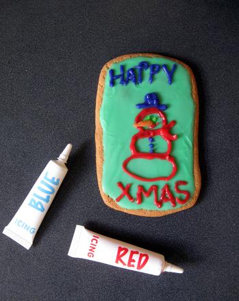 Third Grade Holidays Activities: Cookie Cards