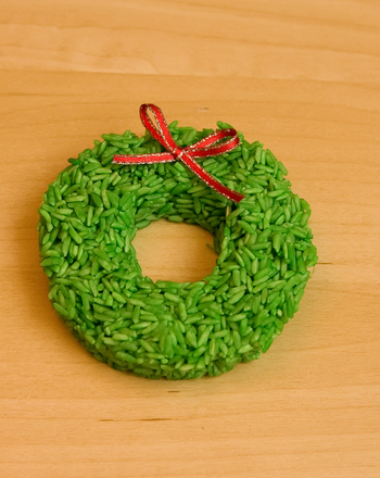Preschool Holidays & Seasons Activities: Wreath Ornament