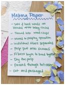 This science fair project idea is develops new or improved paper making techniques and encourages recycling.