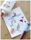 In this project children practice the scientific method while playing with puffy paint.