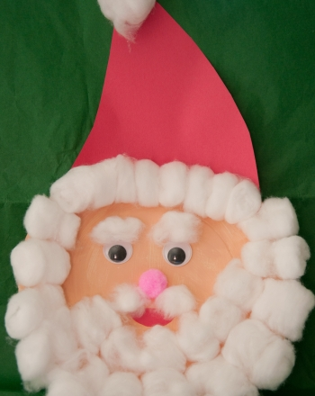 Kindergarten Holidays & Seasons Activities: Paper Santa