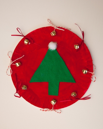 Kindergarten Holidays & Seasons Activities: Christmas Tambourine