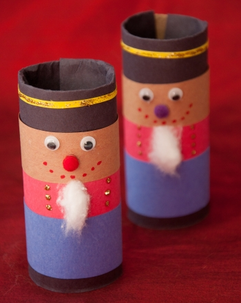 Second Grade Holidays Activities: Nutcracker Soldier