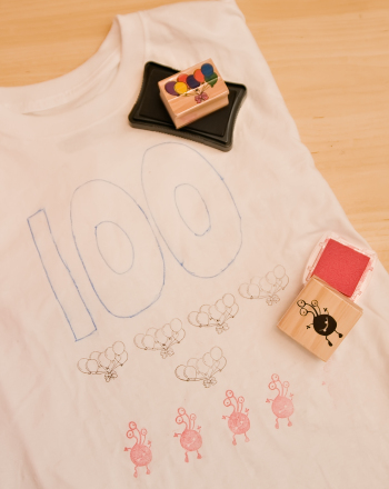 First Grade Arts & crafts Activities: 100 Days of School Shirt