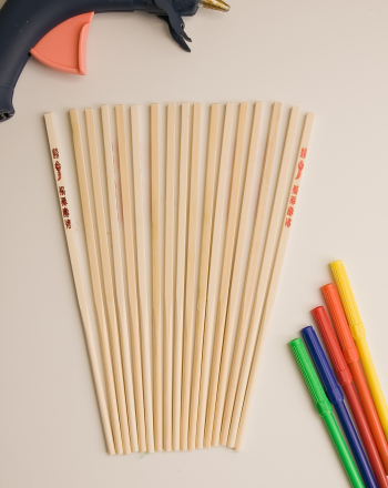 Fourth Grade Arts & crafts Activities: Chopstick Fan