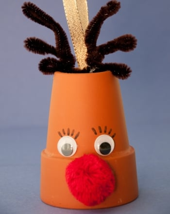 Kindergarten Holidays Activities: Rudolph Craft
