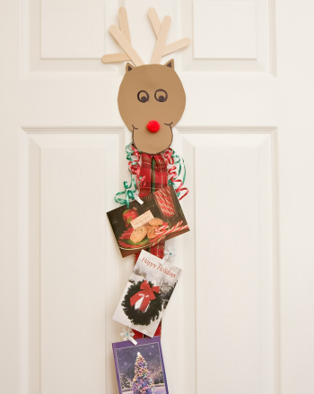 Second Grade Arts & crafts Activities: Rudolph Card Holder